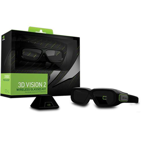 18090cfd60ba NVIDIA 3D Vision 2 Wireless Glasses Kit 942-11431-0007-001 B H