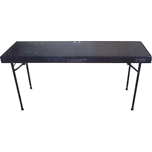 Odyssey Innovative Designs CTBC2060 DJ Work Table With Adjustable Folding  Legs
