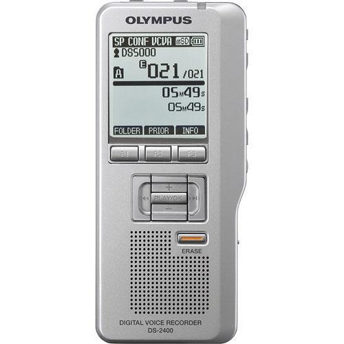 olympus ds 2400 digital voice recorder 142015 b h photo video rh bhphotovideo com  Olympus Digital Dictaphone