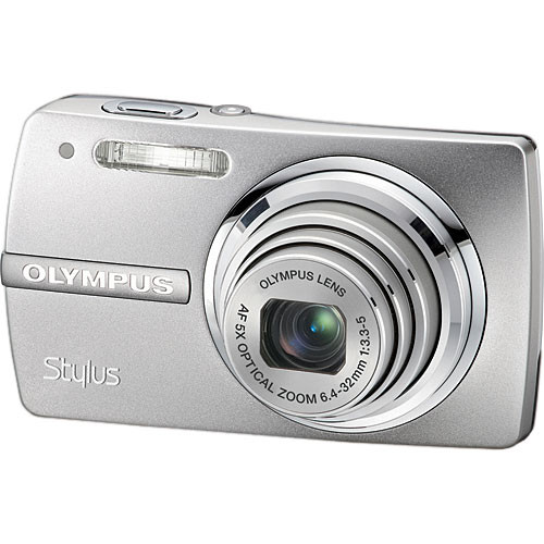 olympus stylus 820 digital camera silver 226065 b h photo rh bhphotovideo com