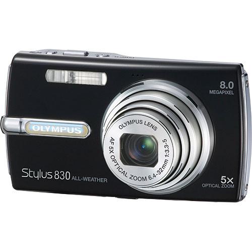 olympus stylus 830 digital camera black 226130 b h photo video rh bhphotovideo com Olympus Stylus Tough Olympus Stylus 35Mm