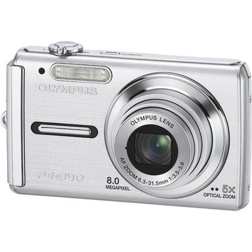 olympus fe 340 digital camera silver 226220 b h photo video rh bhphotovideo com Olympus Fe 46 olympus fe-340 service manual
