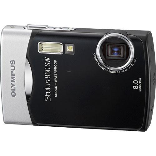 olympus stylus 850 sw digital camera black 226325 b h photo rh bhphotovideo com Olympus Stylus TG-630 Olympus Stylus Film