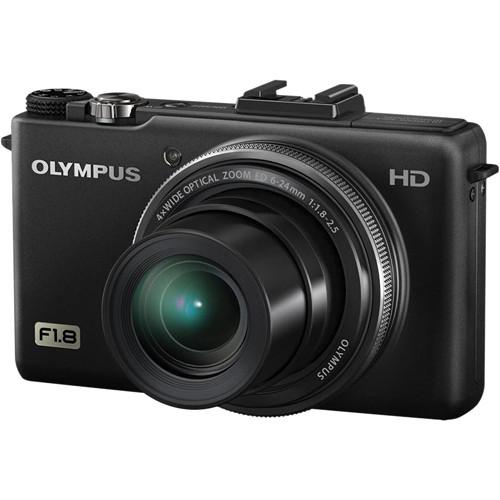 Olympus Digital Camera: Olympus XZ-1 10MP Digital Camera (Black) 228000 B&H Photo