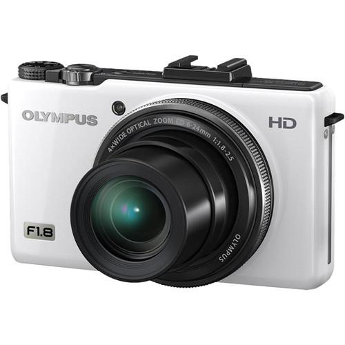 olympus xz 1 10mp digital camera white 228005 b h photo video rh bhphotovideo com