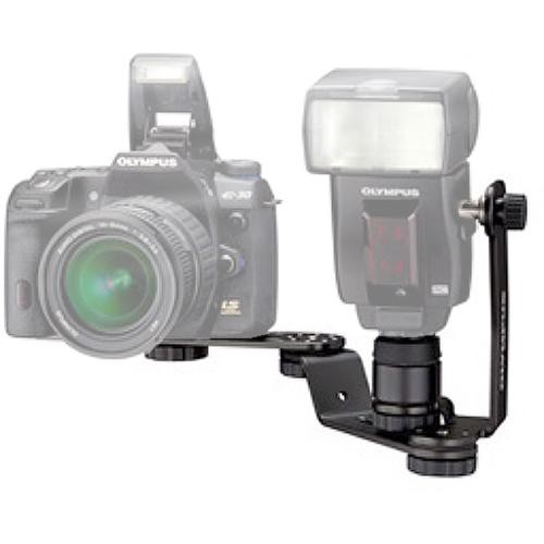 Photography Flash Brackets: Olympus FL-BK04 Flash Bracket 260120 B&H Photo Video
