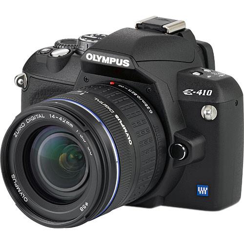 olympus evolt e 410 digital camera kit with 14 42mm zuiko 262041 rh bhphotovideo com Pentax K10D Olympus E-410 Manual