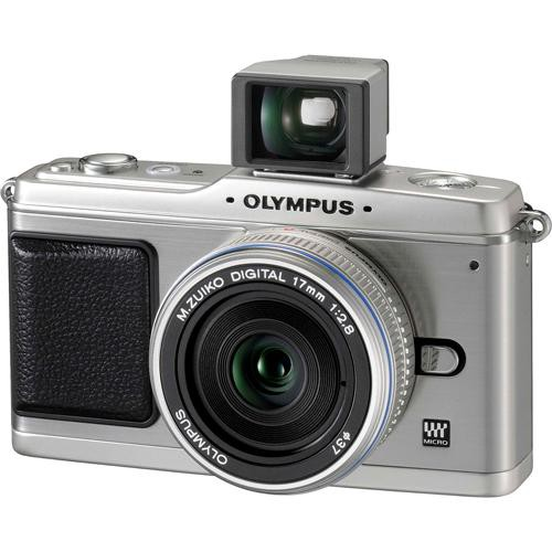 Olympus Digital Camera: Olympus E-P1 Pen Digital Camera W/ 17mm F/2.8 Lens 262817 B&H