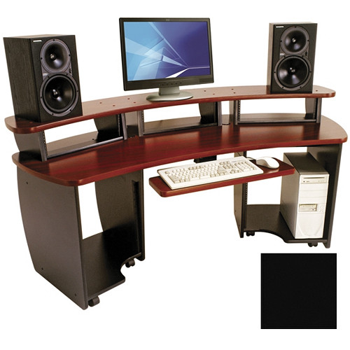 Omnirax Omnidesk Audio Video Workstation Omni B B H Photo