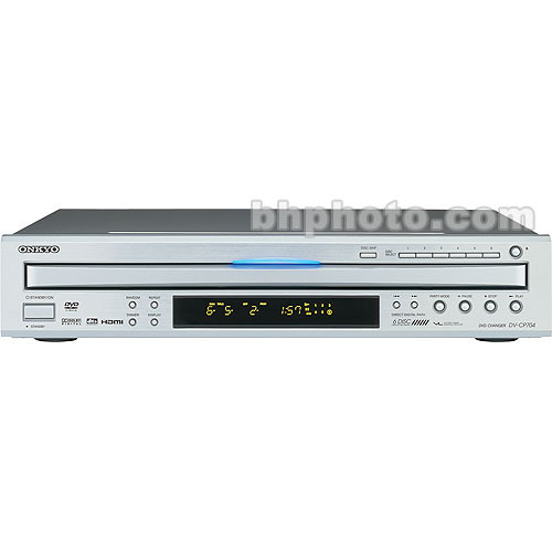 onkyo dv cp704 dvd player silver dvcp704s b h photo video. Black Bedroom Furniture Sets. Home Design Ideas