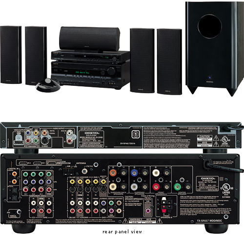 onkyo ht sp904b 5 1 channel home theater system black rh bhphotovideo com onkyo 727 service manual onkyo tx nr727 manual