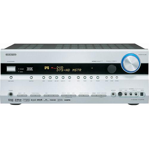 Onkyo TX-SR706S Home Theater Receiver (Silver)