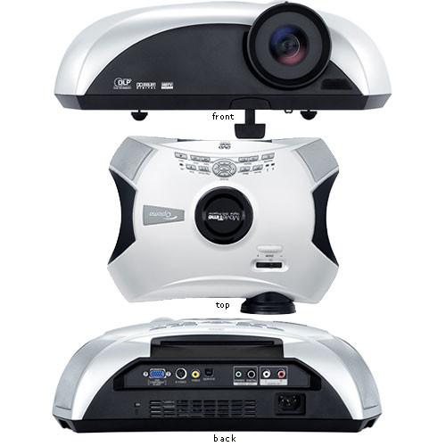 Optoma Technology Movie Time Dv11 Wvga Projector Dv11 B Amp H