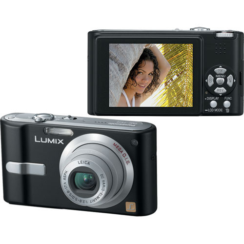 panasonic lumix dmc fx12 digital camera black dmcfx12k b h rh bhphotovideo com Panasonic DMC FX100 Software panasonic lumix dmc-fx12 manual