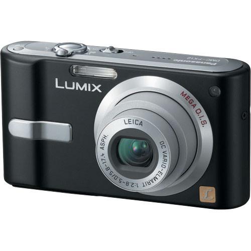 panasonic lumix dmc fx12 digital camera black dmcfx12k b h rh bhphotovideo com Panasonic DMC GF3 Panasonic DMC GF3