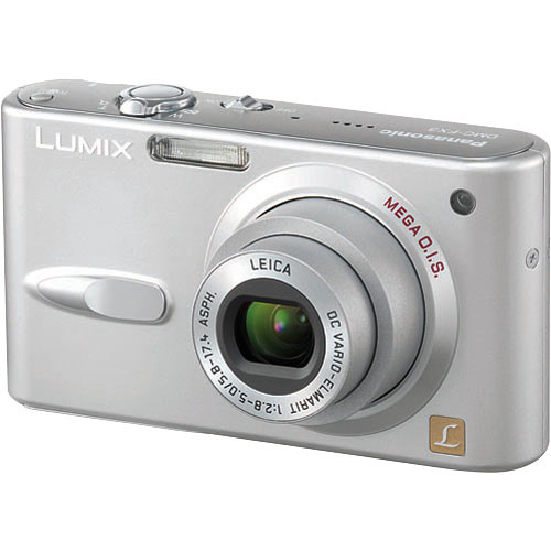 panasonic lumix dmc fx3 digital camera silver dmcfx3s b h rh bhphotovideo com Panasonic Lumix Camera DMC 523 panasonic lumix dmc-fx3 instruction manual