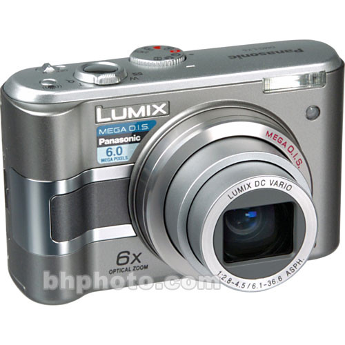 panasonic lumix dmc lz5 digital camera charcoal grey dmclz5se rh bhphotovideo com Panasonic Lumix DMC FZ30 Software Panasonic Lumix G