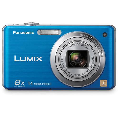panasonic lumix dmc fh20 digital camera blue dmc fh20a b h rh bhphotovideo com panasonic lumix dmc fh20 user manual pdf Panasonic Lumix GH3