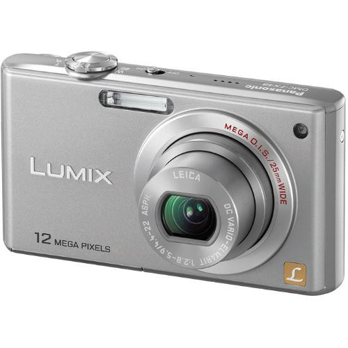 PANASONIC DMC-FX48 DIGITAL CAMERA 64X