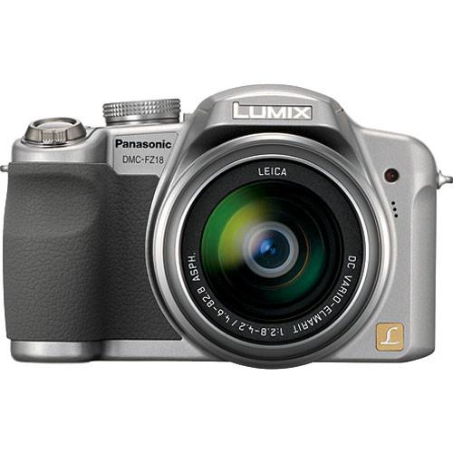 panasonic lumix dmc fz18 digital camera silver dmc fz18s b h rh bhphotovideo com panasonic dmc-fz18 manual download panasonic fz18 service manual