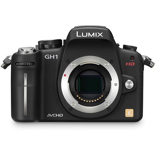 panasonic lumix dmc gh1 digital camera dmc gh1kbody b h photo rh bhphotovideo com Panasonic Lumix DMC-FZ150 Panasonic Lumix DMC-FP1