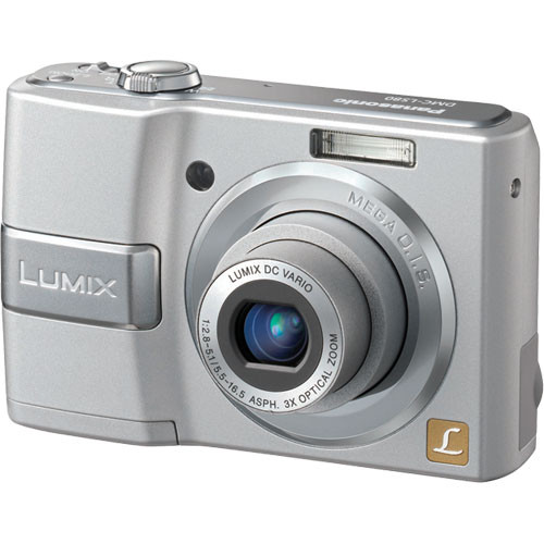 panasonic lumix dmc ls80 digital camera silver dmc ls80s b h rh bhphotovideo com panasonic dmc-ls80 manuale Panasonic DMC GF3