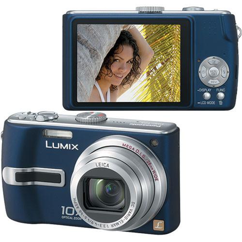 Panasonic lumix dmc-tz3 digital camera (black) dmc-tz3k b&h.