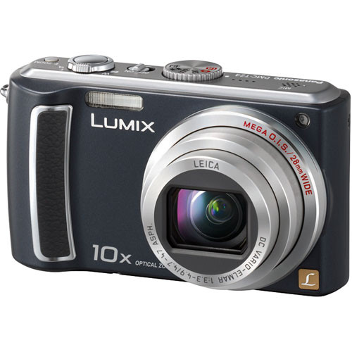 panasonic lumix dmc tz4 digital camera black dmc tz4k b h rh bhphotovideo com panasonic dmc-tz4 manual Panasonic Lumix TZ5 Manual