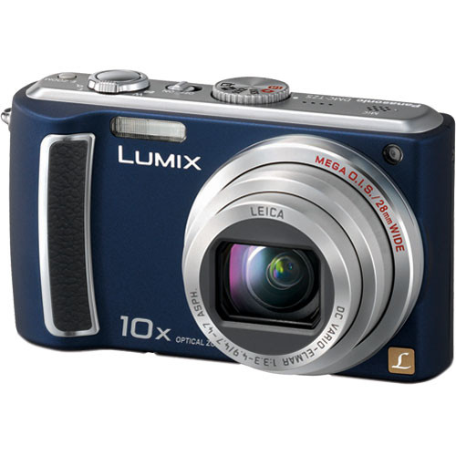 panasonic lumix dmc tz5 digital camera blue dmc tz5a b h photo rh bhphotovideo com HP Owner Manuals Service ManualsOnline