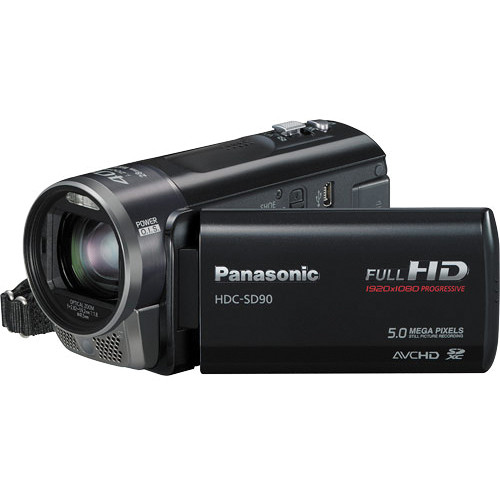 panasonic hdc sd90 full hd 1080p pal camcorder hdcsd90ke b h rh bhphotovideo com Panasonic Camcorder Batteries Panasonic 3CCD Camcorder Manual
