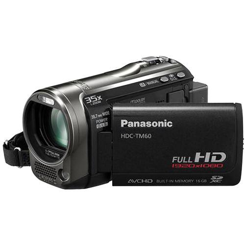 panasonic hdc tm60 hd pal camcorder black hdc tm60ke b h photo rh bhphotovideo com Mechanical Timer panasonic hdc-sd60 user manual