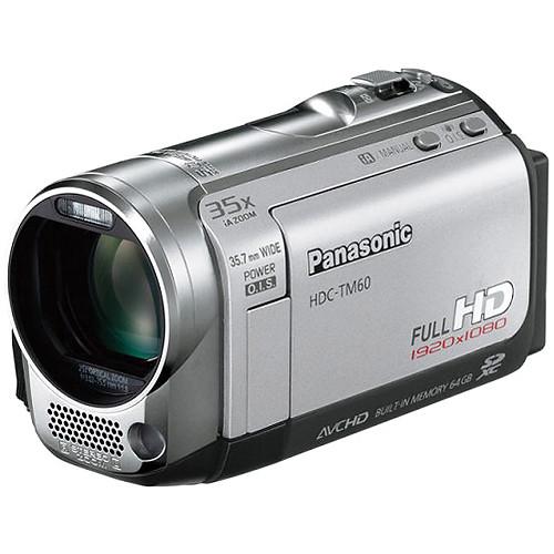 panasonic hdc tm60 hd pal camcorder silver hdc tm60se b h rh bhphotovideo com Panasonic HDC TM60 Charger panasonic hdc-sd60 instruction manual