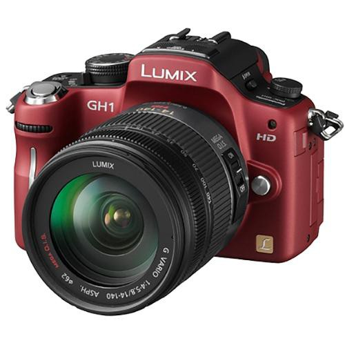 panasonic lumix dmc gh1 digital camera red with 14 140mm lens rh bhphotovideo com Panasonic GH1 Manual Panasonic Lumix DMC-GH2