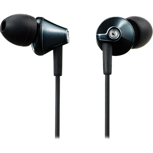 Earbuds package - panasonic earbuds black