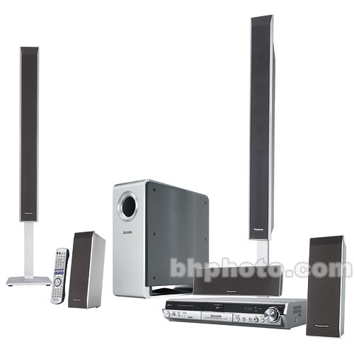panasonic sc rt50 home theater system scrt50 b h photo video. Black Bedroom Furniture Sets. Home Design Ideas