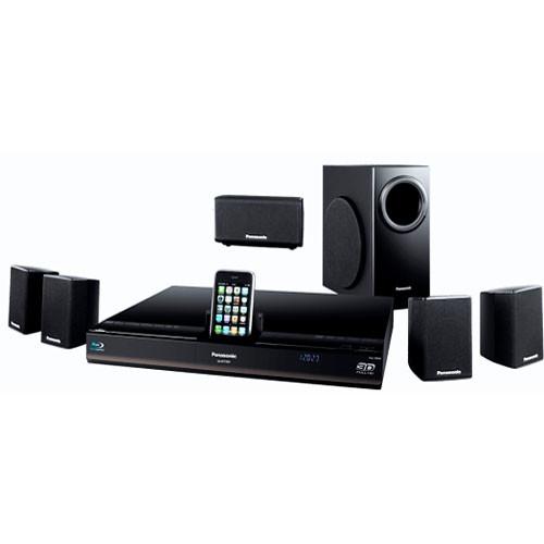 panasonic sc btt350 3d blu ray home theater system sc btt350 b h. Black Bedroom Furniture Sets. Home Design Ideas