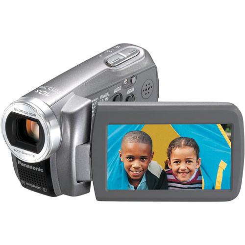 panasonic sdr s7 sd camcorder silver sdr s7s b h photo video rh bhphotovideo com Panasonic SDR- H60P PC Microphones Panasonic SDR- H60P PC Microphones