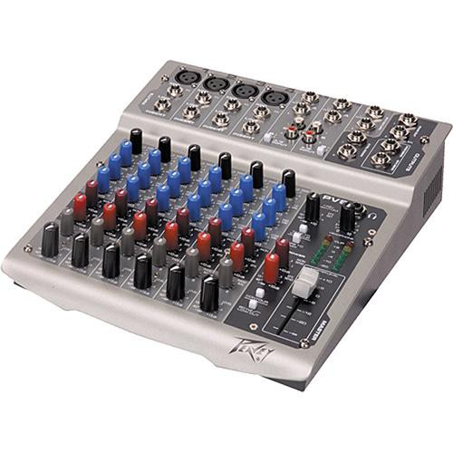 peavey pv8 live sound mixer with 8 channels 00512040 b h photo. Black Bedroom Furniture Sets. Home Design Ideas