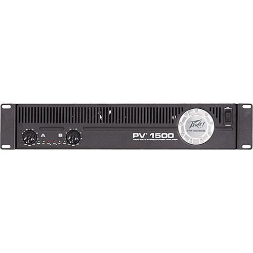 peavey pv1500 rackmount stereo power amplifier 00512820 b h rh bhphotovideo com Peavey Electronics Peavey Powered Speakers