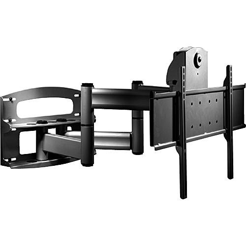 peerless av articulating dual wall arm with vertical. Black Bedroom Furniture Sets. Home Design Ideas
