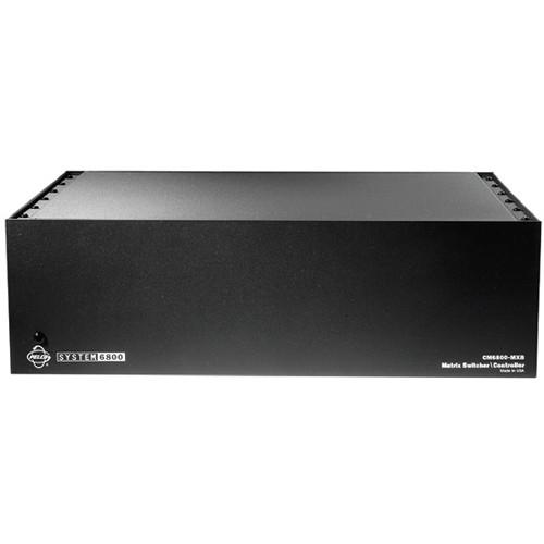 pelco cm6800e48x8x matrix switcher controller cm6800e 48x8 x b h rh bhphotovideo com Matrix Switcher Audio Authority Pelco Switcher 6800 Matrix