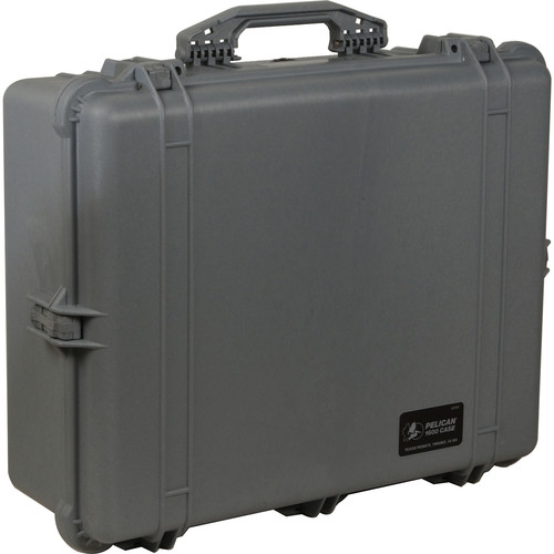 Pelican 1600 Case without Foam (Silver) 1600-001-180 B&H Photo