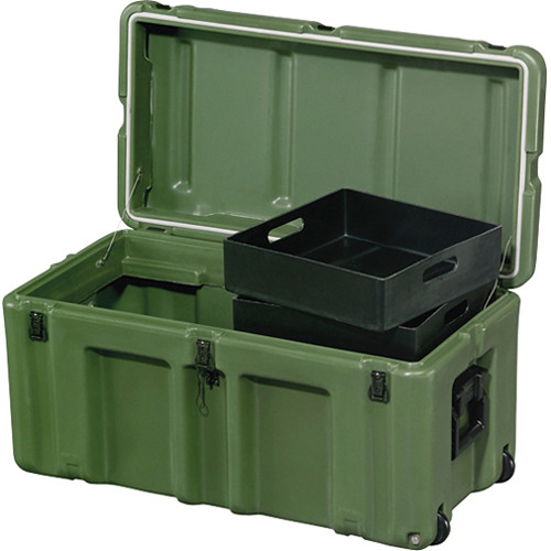 Exceptionnel Pelican Hardigg 472 FTLK LG Footlocker For Movable Storage (Green)
