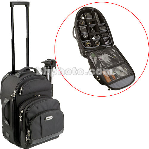Pelican PCS-182 Rolling Backpack Case (Black) PCS182B B H Photo 78ac6204a27