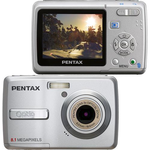 pentax optio e40 digital camera 19196 b h photo video rh bhphotovideo com Pentax Optio 30 Pentax Optio S1