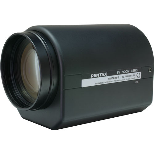 Pentax C61237 1 2 12 240 C Mount Motorized Zoom Lens