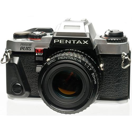 used pentax program plus 35mm slr manual focus camera body b h rh bhphotovideo com Manual DSLR Camera 35mm slr camera manual capabilities