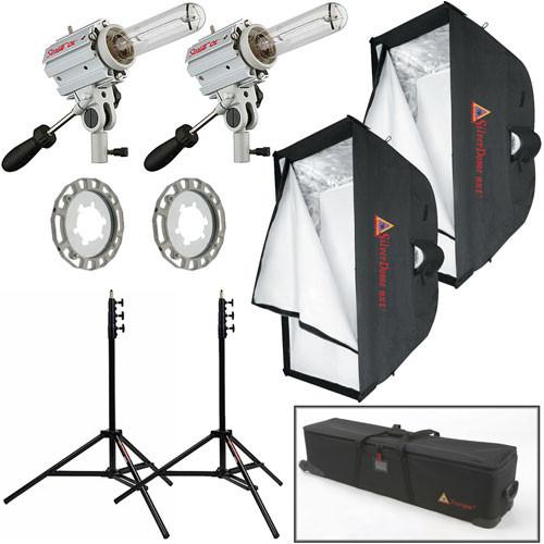 Photoflex Starlite QL Medium Location Two-Light Softbox Kit (120VAC)  sc 1 st  Bu0026H & Photoflex Starlite QL Medium Location Two-Light FV-SL2432SBG Bu0026H
