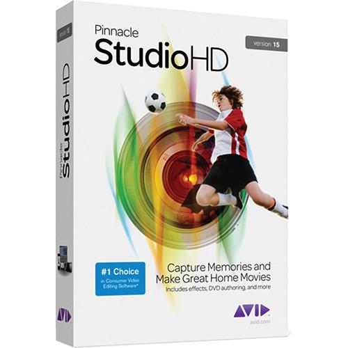Pinnacle Studio HD v.15 Video Editing Software 8210-30018-01 B&H