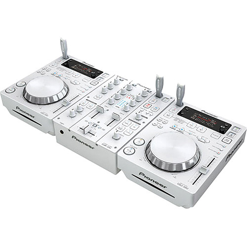 Pioneer CDJ-350-W DJ Deck 64 BIT